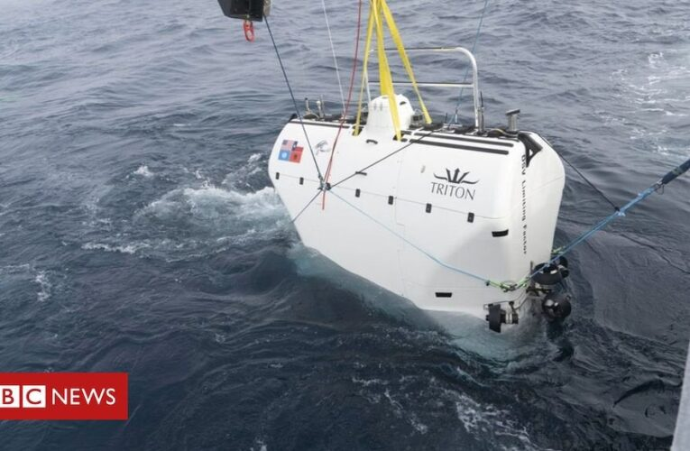 Kelly Walsh, the son of the great ocean explorer Don Walsh, has just descended to the bottom of the Mariana Trench, almost 11km down in the Pacific. He made the dive 60 years after his father created history in doing so. : worldnews