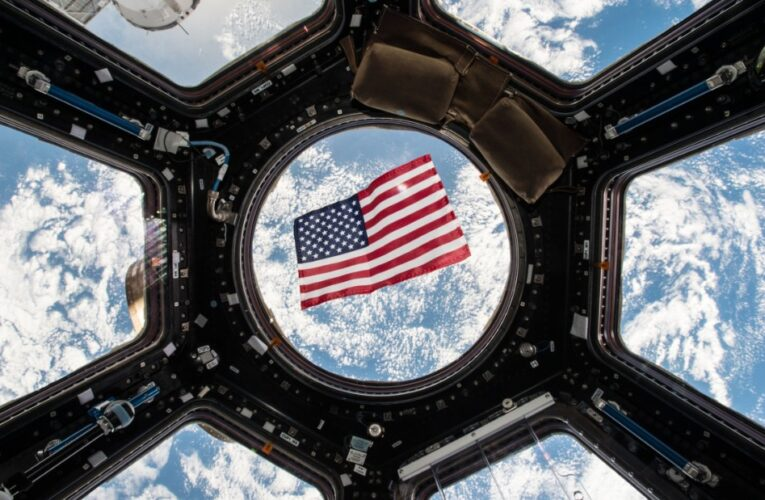 This NASA astronaut voted from space