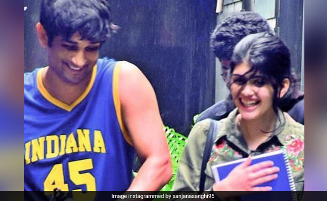 Sushant Singh Rajput's Dil Bechara Co-Star Sanjana Sanghi's Heart-Wrenching Tribute