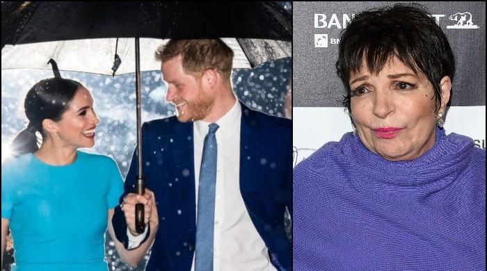 Liza Minnelli says report on helping Prince Harry, Meghan Markle is 'complete fabrication'