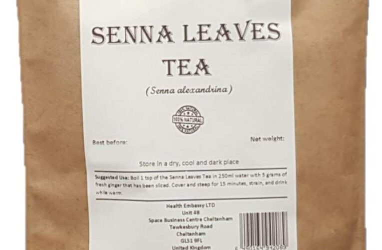 Health Embassy Senna Leaves Tea (Senna alexandrina), 50 g