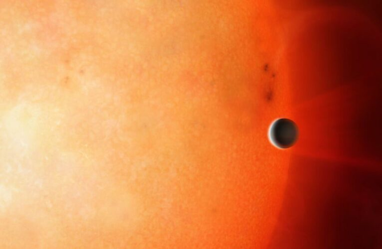 First ever glimpse of the core of a fuel large after one discovered orbiting distant star | Science & Tech News