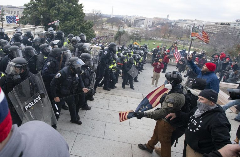 Capitol police had been overrun, 'left bare' towards rioters