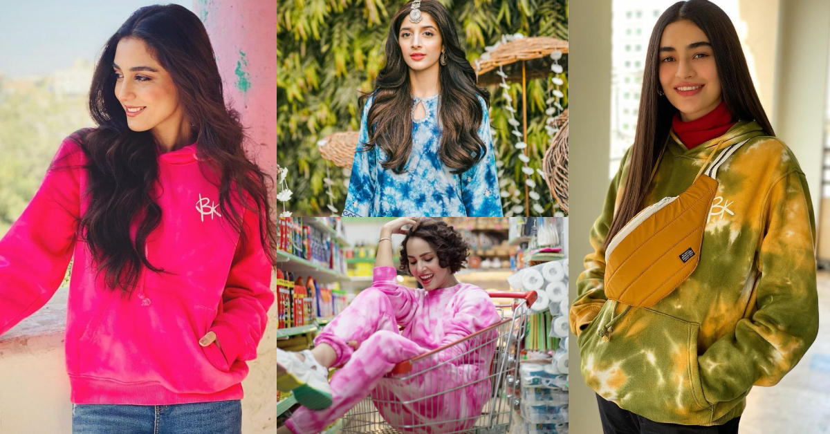 Celebrities Rocking In Tie-Dye Outfits | Reviewit.pk