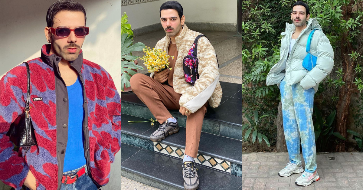 Fashion Designer Hussain Rehar Flaunting His Handbag collection | Reviewit.pk