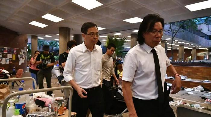 Hong Kong police arrest 11 individuals together with human rights lawyer