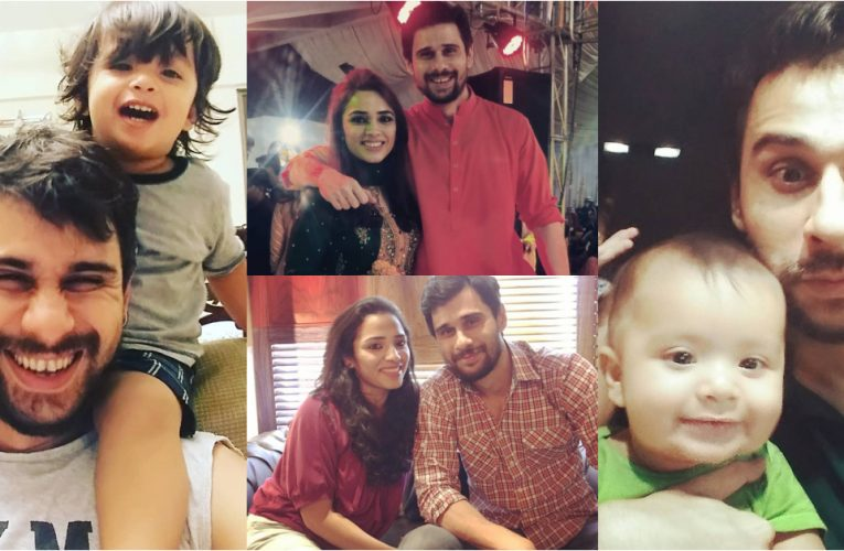 Host Tabish Hashmi's Unseen Family Pictures | Reviewit.pk