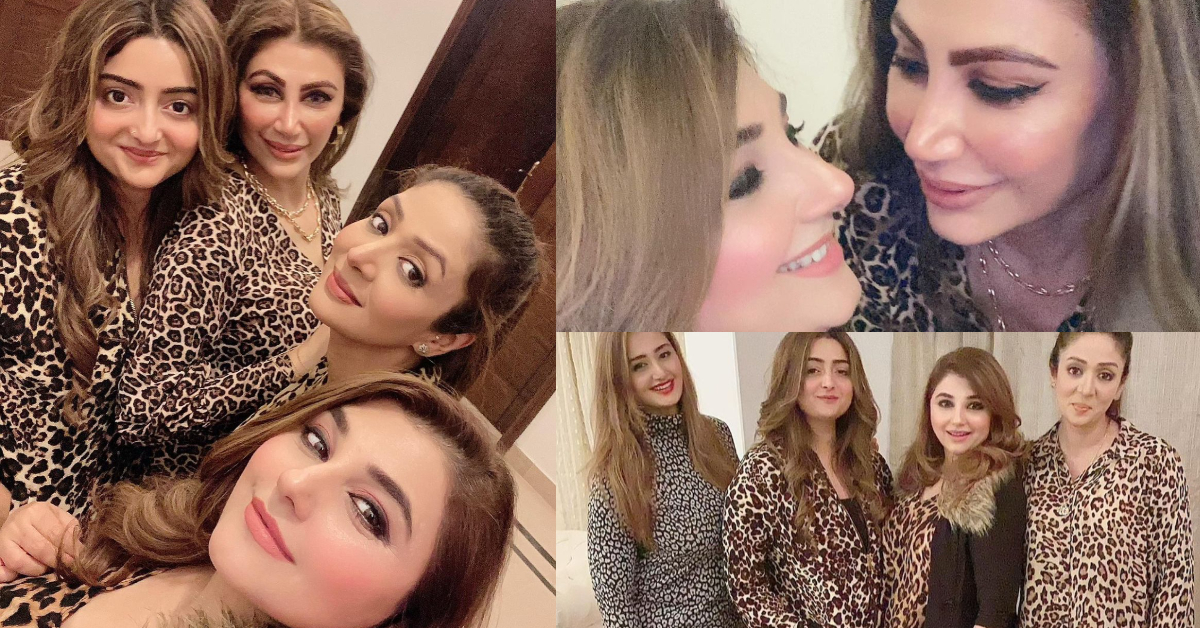 Javeria Saud Pictures With Friends   Reviewit.pk