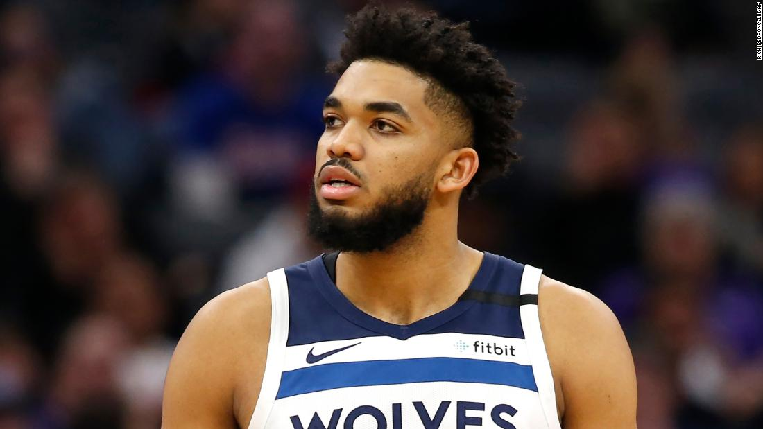 Karl-Anthony Towns has tested positive for Covid-19, as the NBA's postponed games list grows