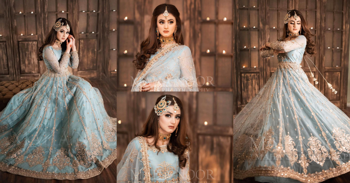 Latest Bridal Shoot Featuring Gorgeous Hira Mani | Reviewit.pk