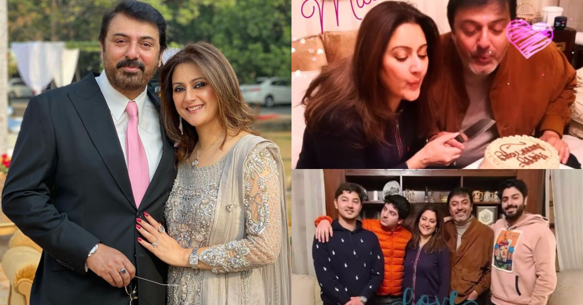 Nauman Ijaz Celebrates 26th Wedding Anniversary | Reviewit.pk