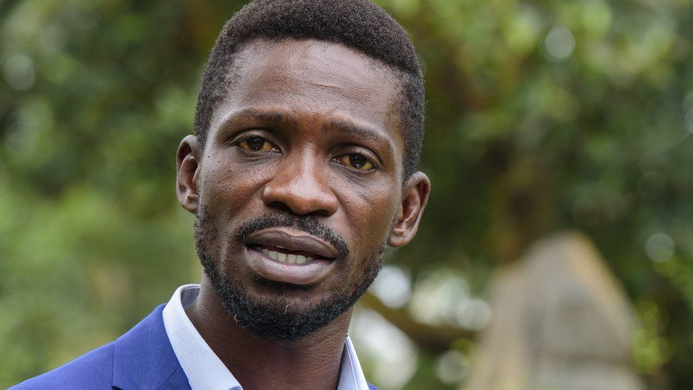 Uganda election: Bobi Wine 'fearful for life' after Museveni win