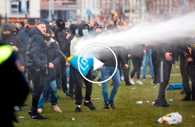 Video: Anti-Lockdown Protesters Clash With Officers within the Netherlands