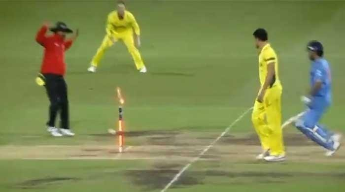 ICC shares video of run outs on direct hit