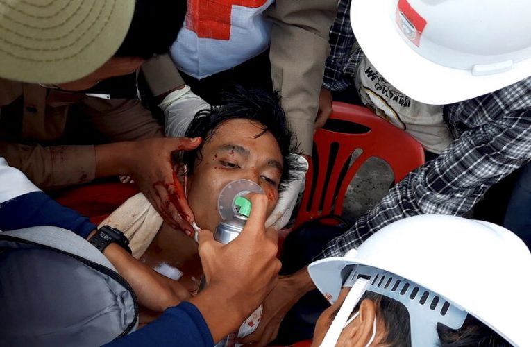 At Least 3 Killed as Myanmar Police Crack Down on Protests