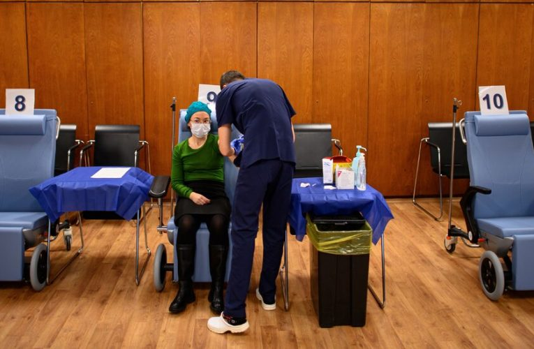 Bulgaria offers a vaccine to anyone who wants one, and long lines form.