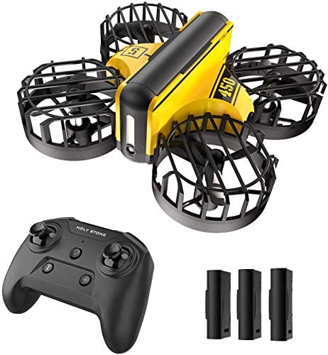 Holy Stone HS450 Mini Drone for Kids Beginners – Hand Operated Nano Quadcopter with Altitude Hold, Throw to Go, Obstacle Avoidance, Circle Fly, 3D Flips, 3 Batteries, Toys for Boys & Girls