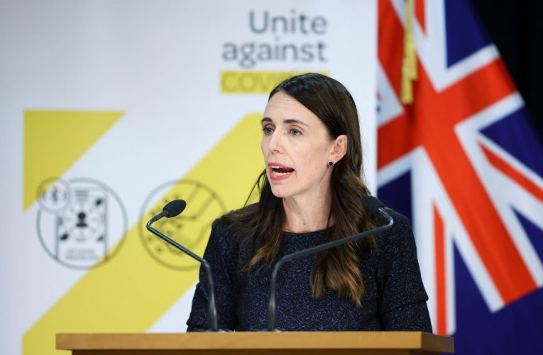 New Zealand's new Covid cases are all UK variant, says Ardern