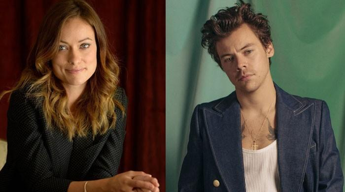 Olivia Wilde 'falling hard' for Harry Styles but 'doesn't want to scare him off'