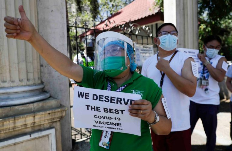 Philippines to receive COVID-19 vaccine after delays