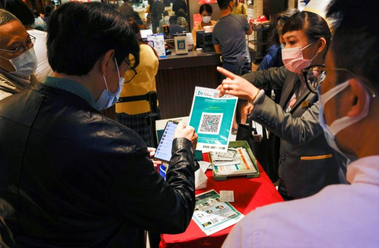 Rise in burner phones amid suspicion over Hong Kong government contact-tracing app