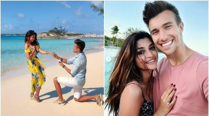 Zoya Nasir is no longer single after saying yes to German vlogger Christian Betzmann