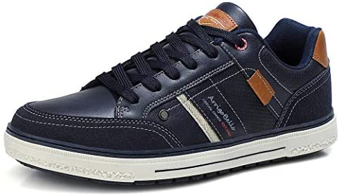ARRIGO BELLO Mens Casual Shoes Trainers Walking Jogging Comfortable Fashion Outdoor Travel Lightweight Business Size 41-46