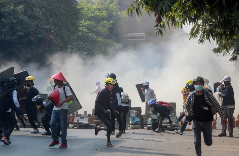'At least 34 killed' by security forces in deadliest day of demonstrations since coup