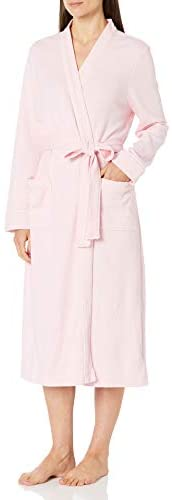 Amazon Essentials Women's Lightweight Waffle Full-Length Robe