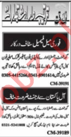 Auto CAD Operator & Web Developer Jobs 2021 in Islamabad