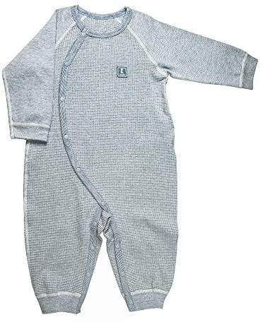 Baby Boy Girl Footless Pajamas,Super Soft Side Snap Romper,Newborn Long Sleeve Jumpsuit,Kids Spring and Autumn Clothes, 3-18 Months