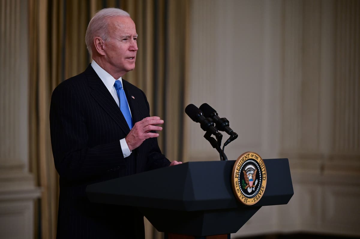Biden directs every state to vaccinate all teachers by end of March