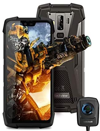 Blackview BV9700 Pro (with night vision camera) Rugged smartphone – 5.84 inch FHD+ IP68 Waterproof Outdoor mobile phone, Helio P70 Octa core 6GB+128GB Android 9.0, air quality and heart rate monitor