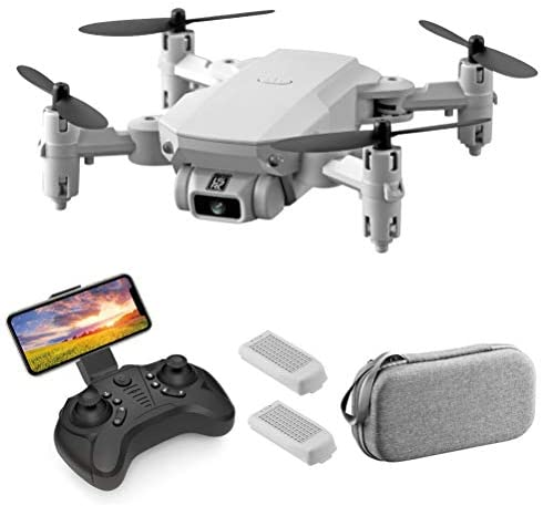 Drone with Camera for Adults 4K HD FPV Live Video 120° Wide Angle, Mini Drone Support VR 3D Glasses, RC Quadcopter Gravity Sensor, One Key Return 360° Flip with LED Light