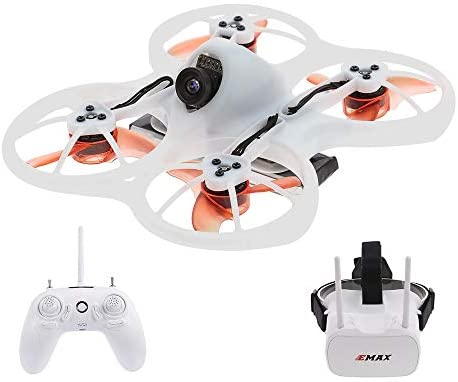 EMAX Tinyhawk RTF RC Racing Drone Brushless 600TVL Camera with Goggles Transmitter Shoulder Bag RTF
