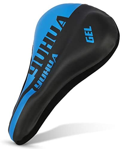 Gel Bike Seat Cover – Bike Seat Cushion, with a Waterproof Cover, a Comfortable and Soft Bike Saddle for Men and Women