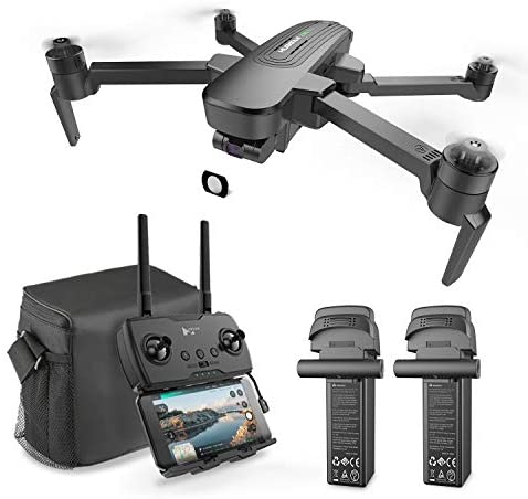 Hubsan ZINO Pro+ drone with 4k camera for Adults,39Mins Flight GPS RC Quadcopter with Brushless Motors, Auto Return, Altitude Hold, 5.8G WiFi FPV 8KM Transmission with a bag and two batteries.