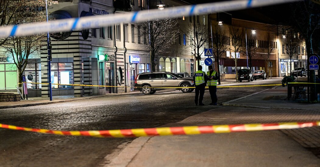 In Sweden, Man Armed With Ax Injures 8