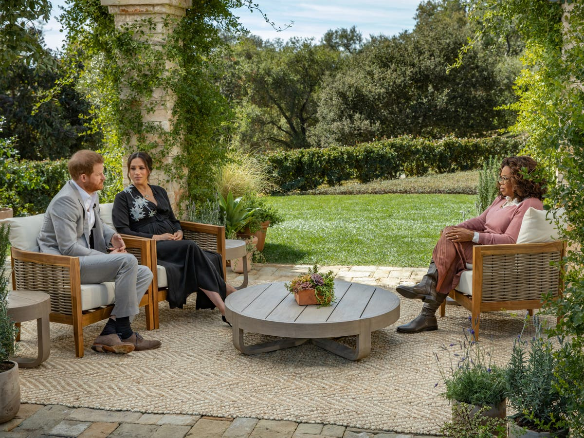 Inside Gayle King's mansion where Meghan and Harry's interview with Oprah was reportedly filmed