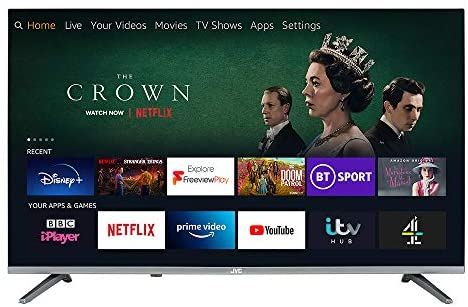 JVC Fire TV Edition 32″ Smart HD Ready LED TV