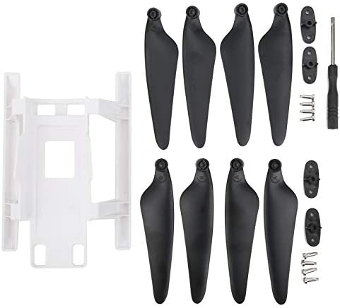 Ladieshow Drone Landing Gear,Landing Gear Heightened Extender Propeller Set Fit for Hubsan Zino H117S Drone Model