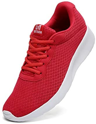 Men's Road Running Shoes Trainers Casual Mesh Athletic Sneakers for Gym Sports Fitness Workouts Cross Training