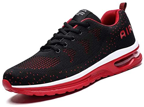 Men's Trainers for Women Air Cushion Running Shoes Athletic Sport Tennis Sneakers Gym Jogging Fitness Walking Casual Shoes