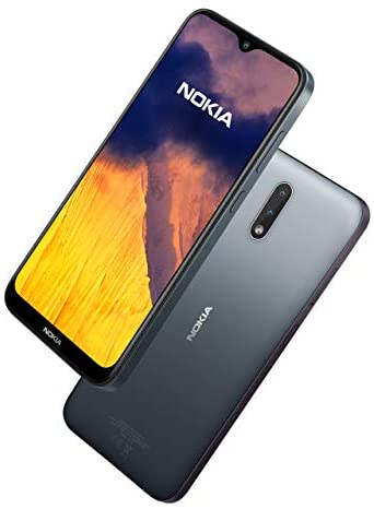Nokia 2.3 6.2 Inch Android UK SIM-Free Smartphone with 2 GB RAM and 32 GB Storage (Dual-SIM) – Charcoal