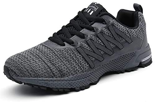 SOLLOMENSI Running Shoes Mens Womens Trainers Lightweight Outdoor Sports Shoes Athletic Gym Fitness Walking Run Jogging Walking Casual Sneakers