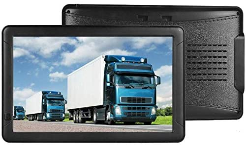 Sat Nav for Car Truck,9 Inch Big Screen GPS Navigation with Latest UK Maps free Lifetime Updates Includes Postcodes, Speed Camera Alerts & POI Lane Assistance