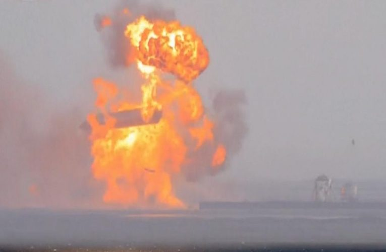 Third time is not a charm: Space X's rocket lands but then explodes