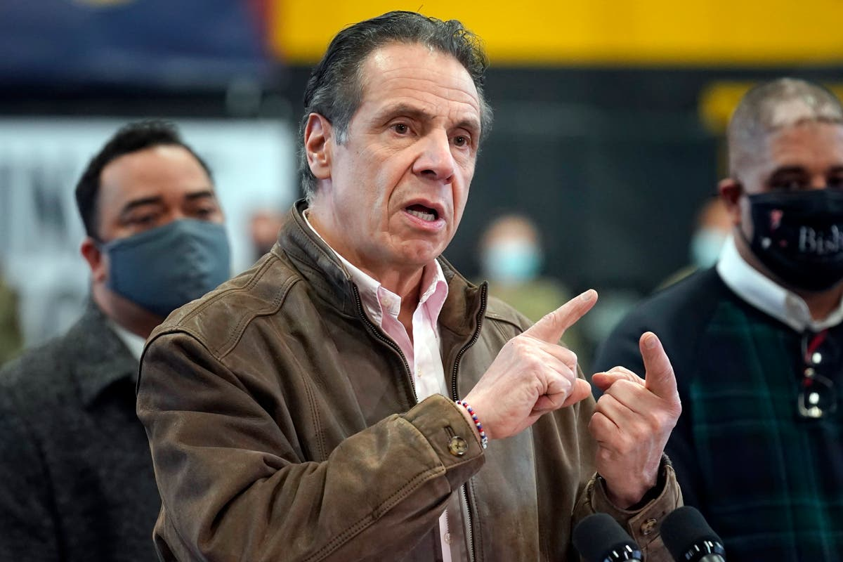 Top New York lawmaker calls for Gov. Cuomo's resignation