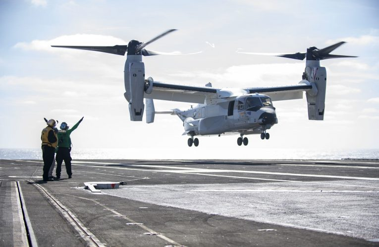 U.S. Navy orders additional CMV-22B Osprey aircraft in $309M deal