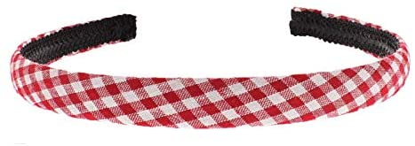 Zac's Alter Ego 15mm Checkered Gingham Aliceband - School Accessory